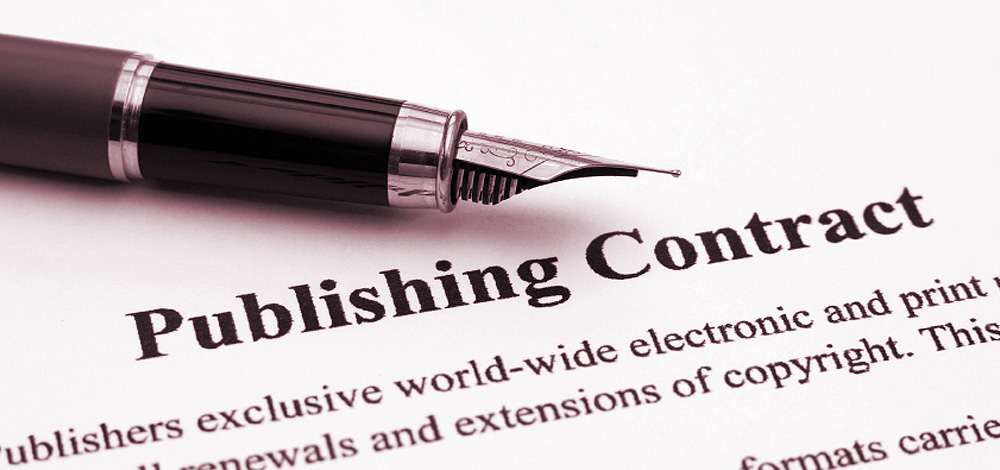 copyright law publishing legal contract slider image